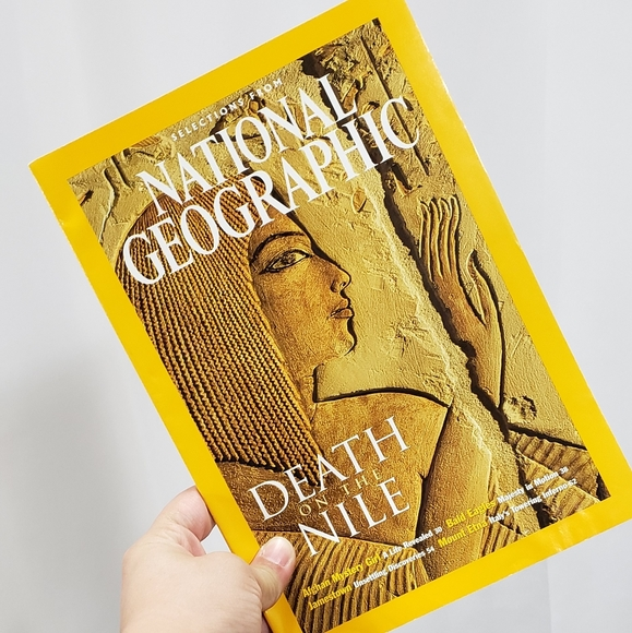 Selections from Nat Geo: Death on the Nile